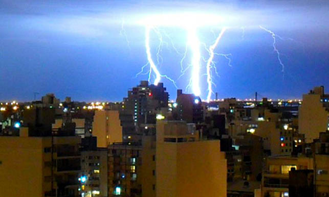 Sigue vigente un alerta meteorológico por fuertes lluvias y tormentas