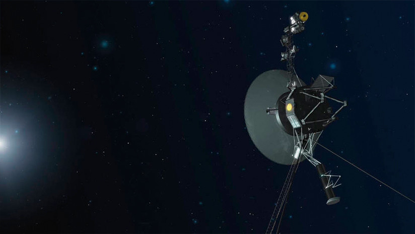 Voyager 1 enciende motores tras 37 años de inactividad